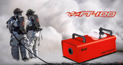 Wytwornica dymu Antari FT100 Fire Training Fog Machine 566m3/min